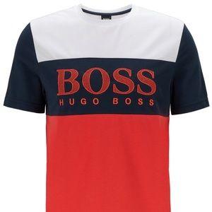 NWT Hugo Boss Colour-Block T-Shirt